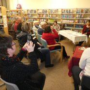 Gruß an die alle Besucher meiner Lesung in Arnsdorf